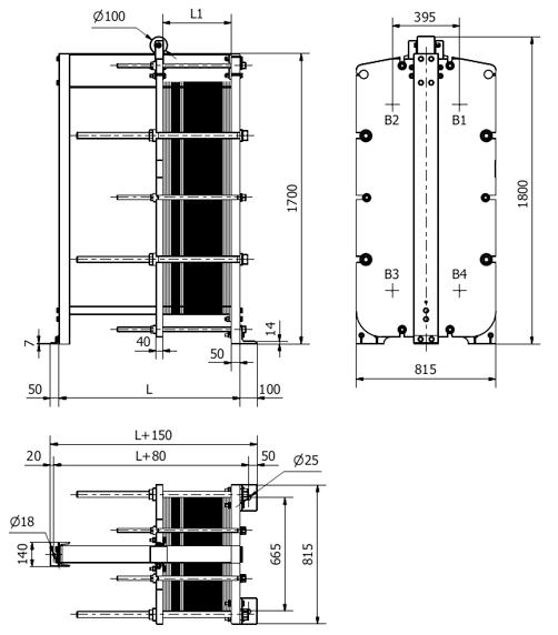 Технические характеристики теплообменников sondex Кожухотрубный теплообменник Alfa Laval ViscoLine VLO 76/129-6 Канск