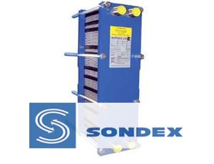 Sondex теплообменник из нерж стали 100кв м