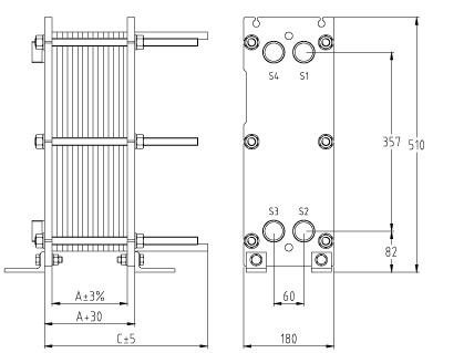 Теплообменник fp 41 73 габаритные размеры купить теплообменник для газового котла беретта ciao